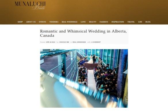 Amy + Howard :: Featured Wedding on Manaluchi Bride