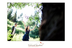 Edmonton outdoor engagement photography
