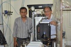 Prueba de Gas del Chaco en el Laboratorio de Mecánica y Energía de la FIUNA