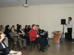 Presentación de Darío Alviso en la VII Jornada de Jóvenes Investigadores