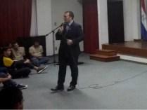 Estudiantes del IPT participaron de una charla educativa sobre delincuencia juvenil