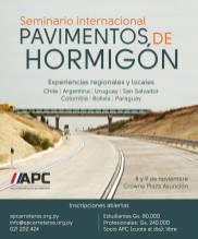 "Seminario Internacional ""Pavimentos de Hormigón"""