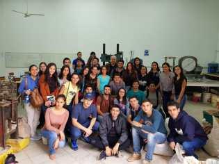 Realizaron una visita técnica a la FIUNA estudiantes de la FCyT UNCA