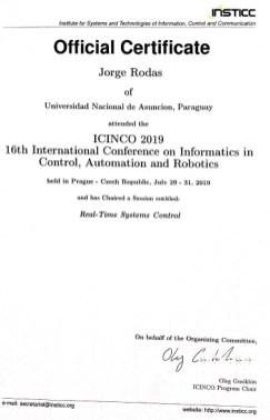 ICINCO 2019