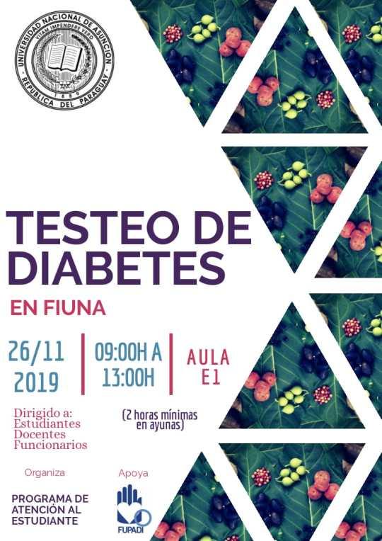 Testeo de Diabetes