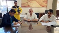 La FIUNA y el Cuerpo de Bomberos Voluntarios Del Paraguay (CBVP) firmaron convenio específico de cooperación