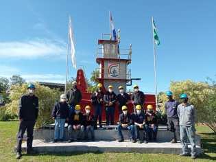 Estudiantes del IPT realizaron visita técnica al Puente Héroes del Chaco - Consorcio Unión
