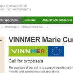 Becas Winnmer Marie Curie para Investigadores – Suecia