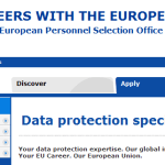 La Comisión Europea busca especialistas en protección de datos