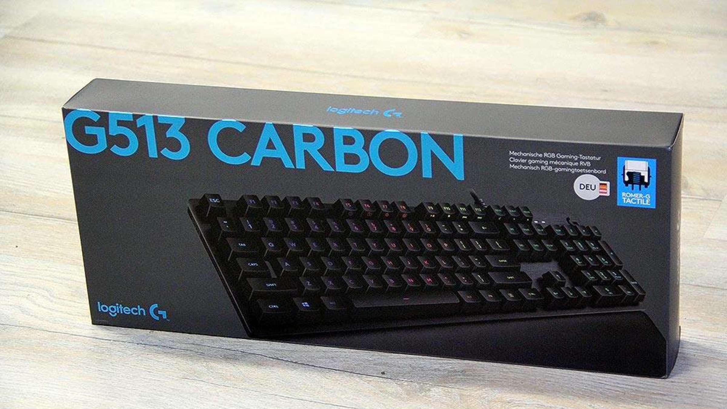 test logitech g513 carbon tests
