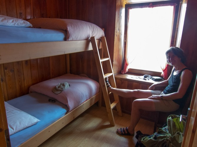 Our little room at rif Coldai