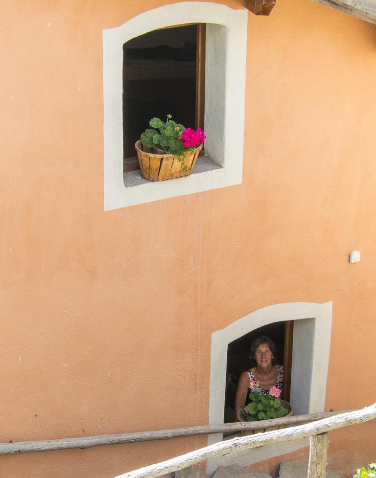 Gîte windows, St. Veran