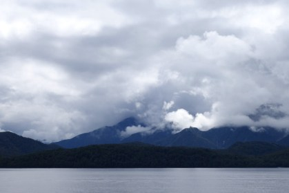 Fiordland. The forecast is for better weather.