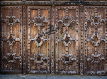 Doorway to a school.