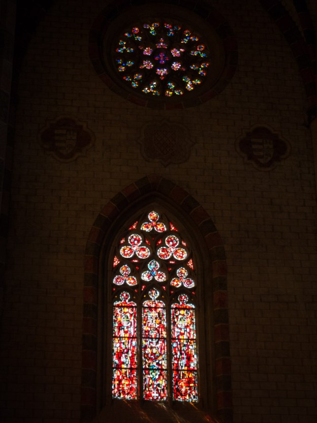 Windows in Les Jacobins.