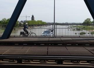 Deventer from the rail bridge
