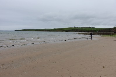 On Scapa Beach, a short walk from Kirkwall.