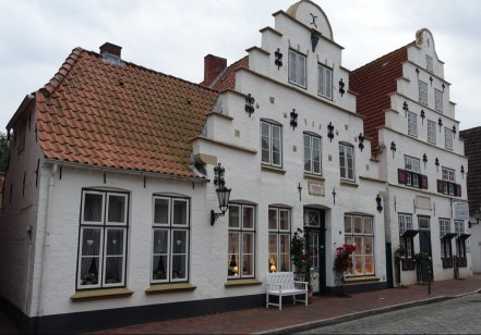 17th c houses in Tönning Germany