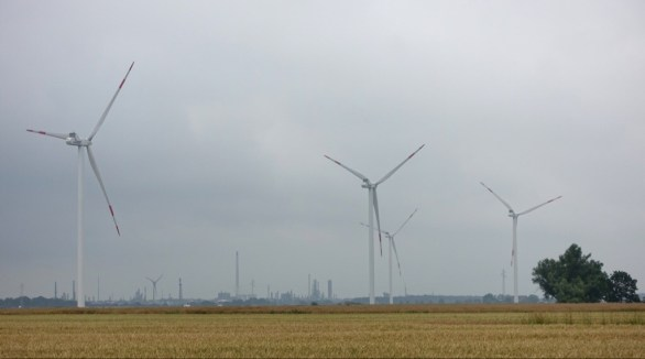 Wind turbines and industry, Germany