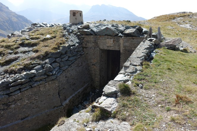 Old fortifications on the way to Col de la Vanoise.