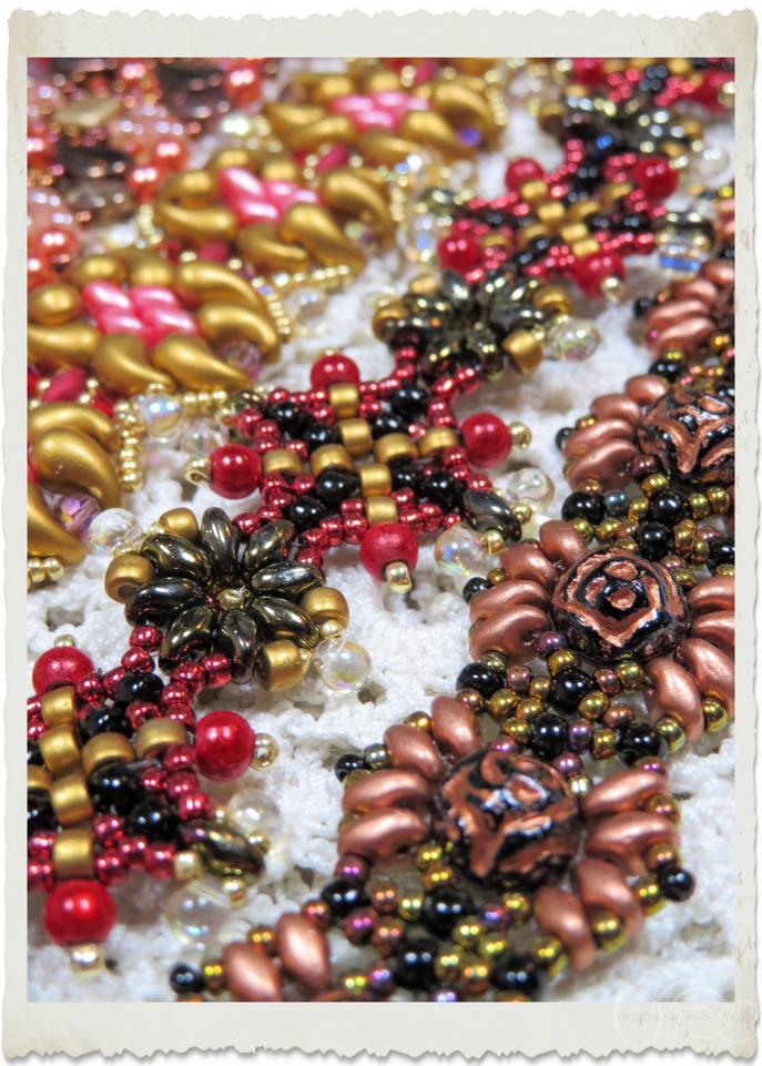 Superduo and Matubo beads