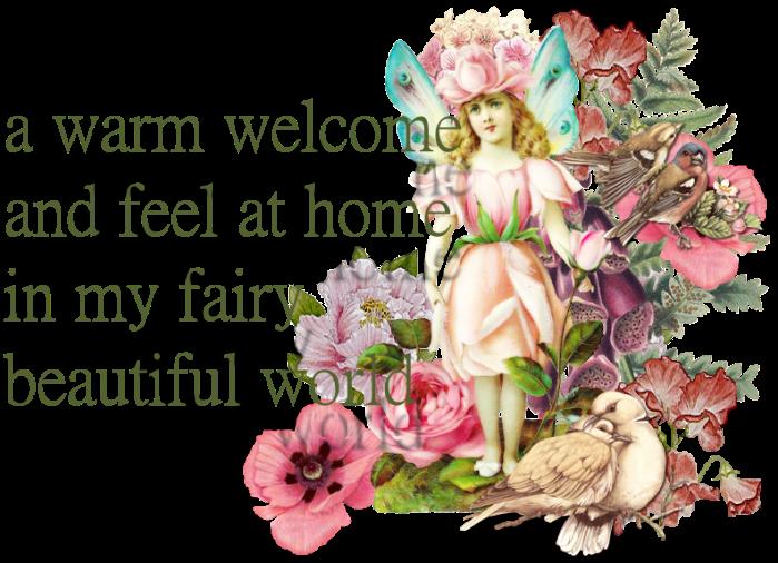 Welcome to my fairy beautiful world