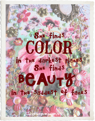 Quote of color