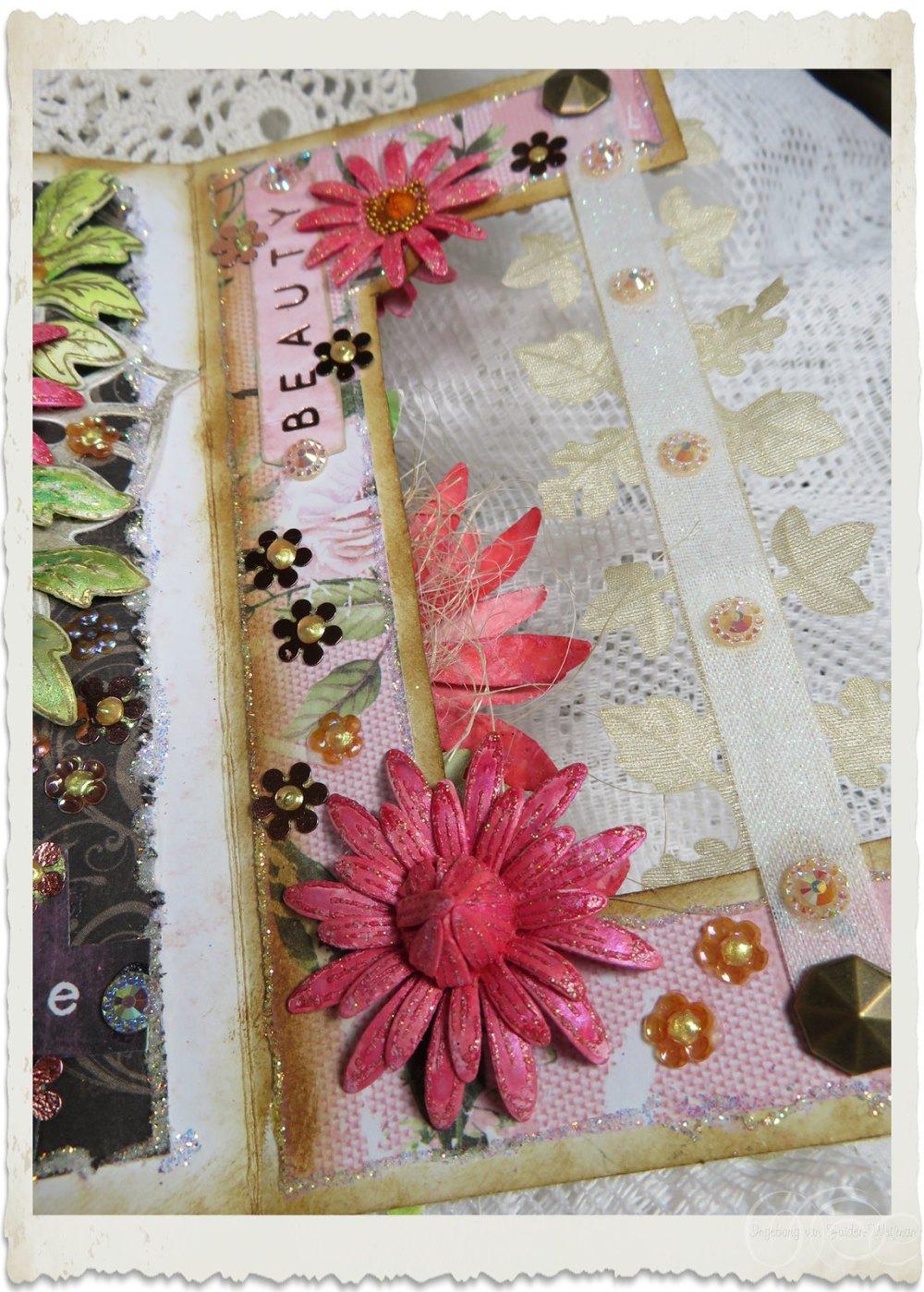 Heartfelt Creations Wild Asters flowers by Ingeborg van Zuiden