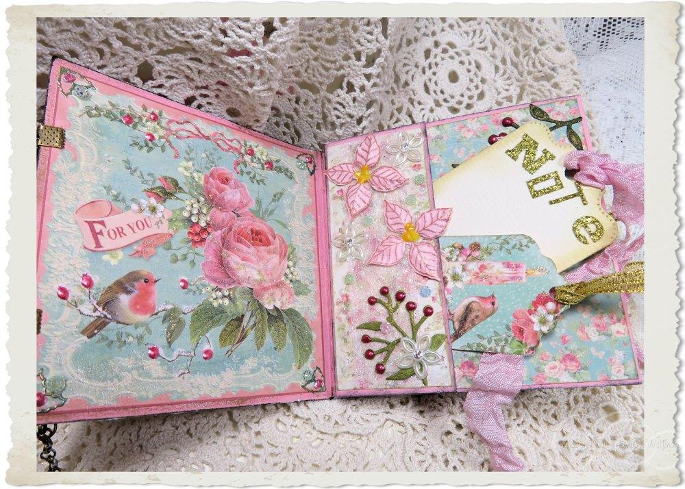 Pastel Christmas booklet with notecards by Ingeborg van Zuiden
