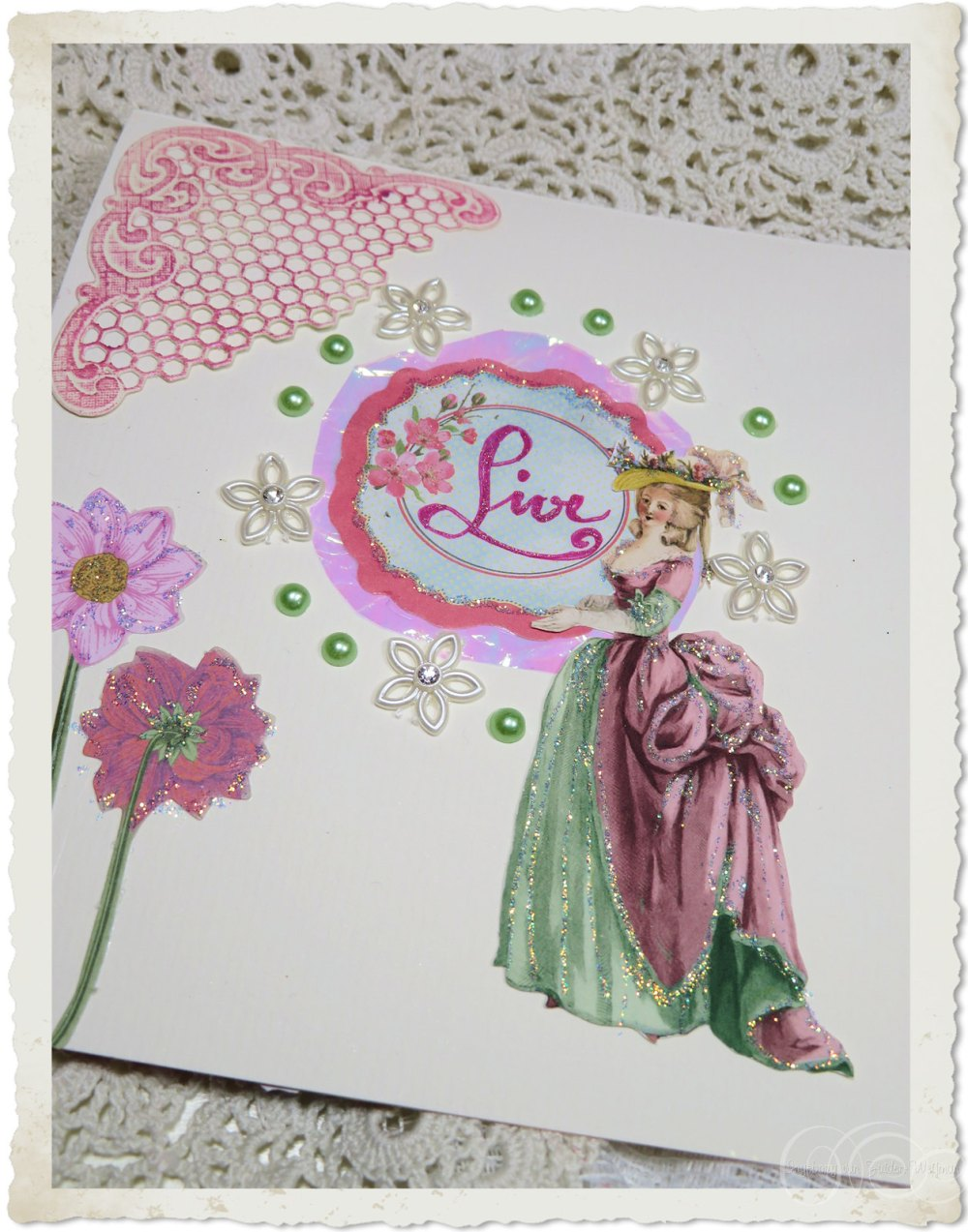 Inside details of Marie card