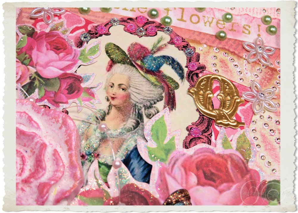 Roses and Marie-Antoinette
