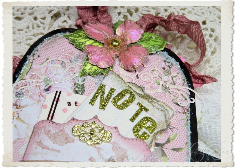 Glitter note