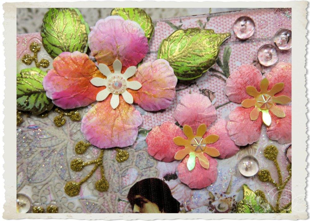 Pastel pink Oakberry Lane flowers by Ingeborg