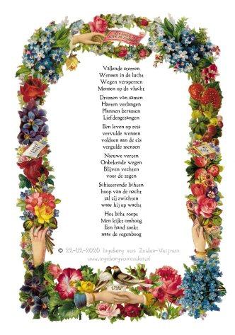 Gedicht Vallende Sterren door Ingeborg van Zuiden