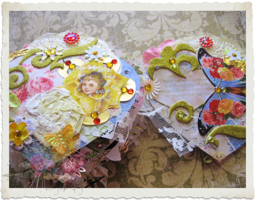 Handmade fairy book