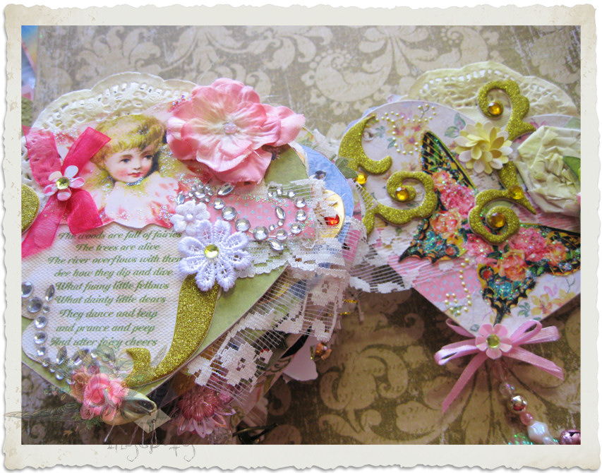 Details of fairy heart book