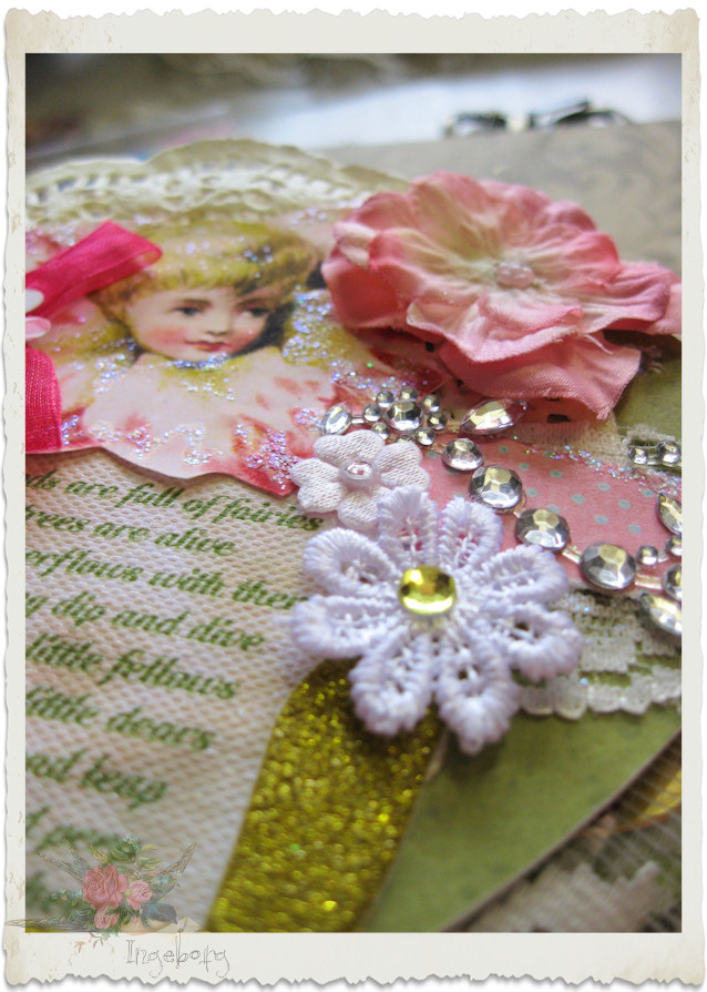 Lace flower applique