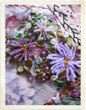 Beaded Asters by Ingeborg van Zuiden