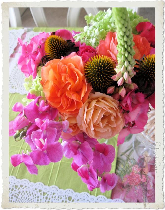 A bouquet from my garden by Ingeborg