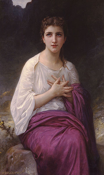 """Psyche"" by William-Adolphe Bouguereau"