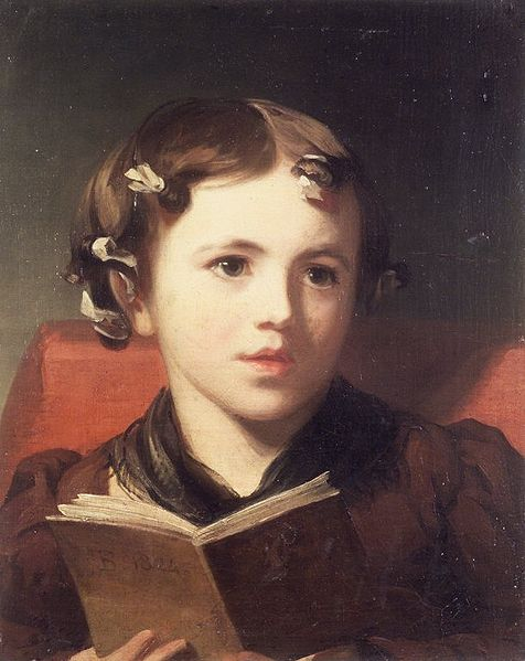 """Portrait of a Young Girl"" by Thomas Sully"
