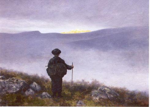 """""""Soria Moria Castle"""" by Theodor Kittelsen"""