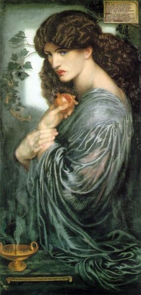 """""""Persephone"""" by Dante Gabriel Rossetti"""