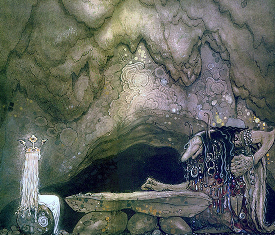 """So, how is your appetite?"" by John Bauer"
