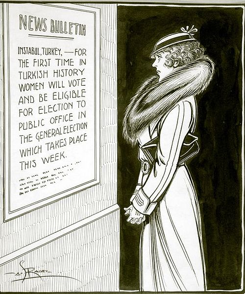 """Montreal Star"" political cartoon by Arthur G. Racey"