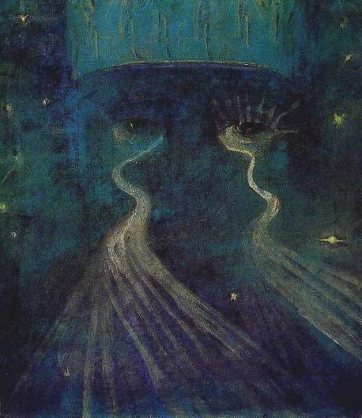 """Eternity"" by Mikalojus Čiurlionis (1875-1911) Lithuanian Painter, Composer & Writer"