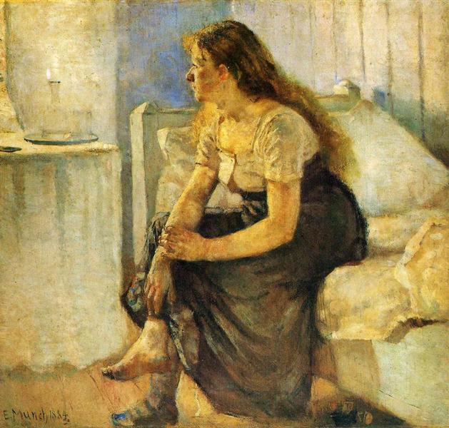 """Morning"" by Edvard Munch"