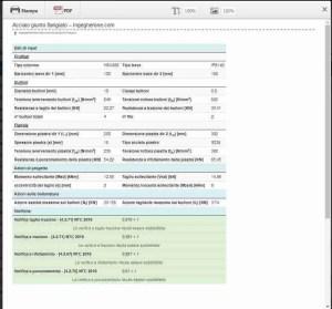 pdf riepilogo app verifica giunto flangiato dimensioni geometriche - ingegnerone.com