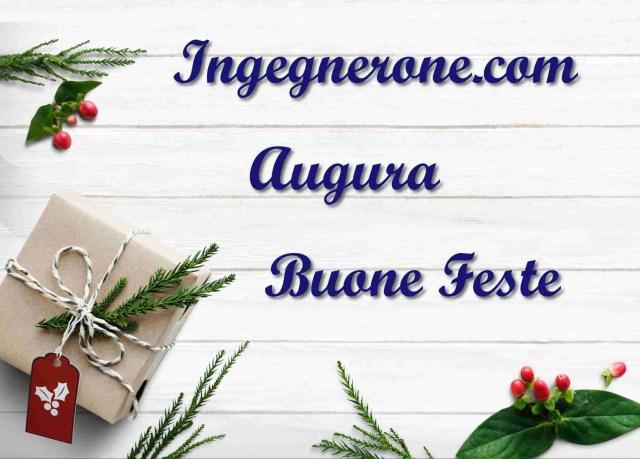 Buone feste 2018 - ingegnerone.com