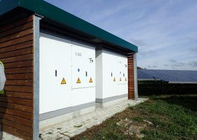 4 centrales au sol